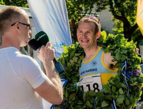 The winners of Victory Day Marathon are Briton Jonathan Rosenbrier and local Klarika Kuusk.