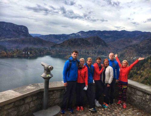 Kahe Silla klubi Ljubljana maratonil