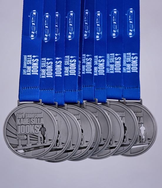 Kahe Silla jooks_medal