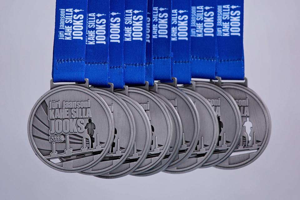 Kahe Silla jooksu medal