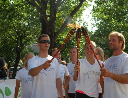 Rio olümpiasangarid osalevad Maraton EV100 teatejooksul