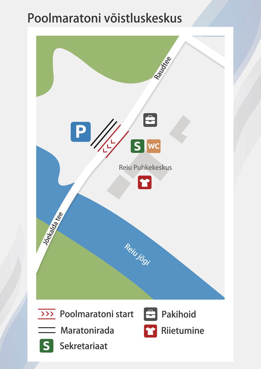 poolmaraton_voistluskeskuse kaart