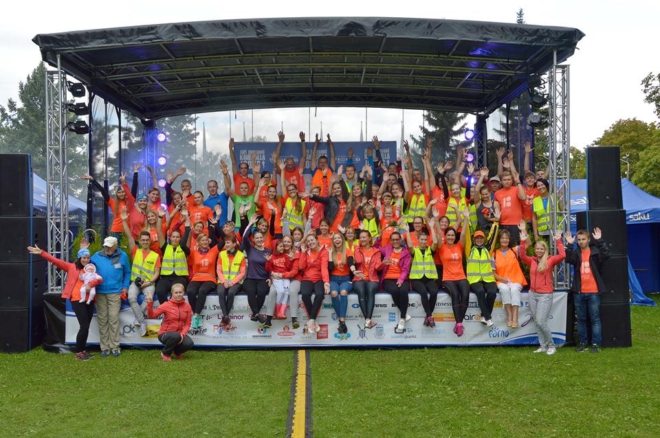 Kahe Silla jooksu vabatahtlikud 2018