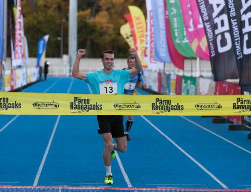 Pärnu Rannajooksu võitsid Teet Kokk ja Olga Andrejeva