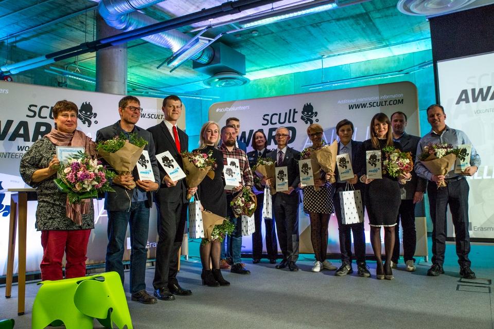 Vabatahtlikud_scult auhinna saajad