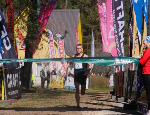 Karl Mäe and Anu Teppo – winners of Dune Race