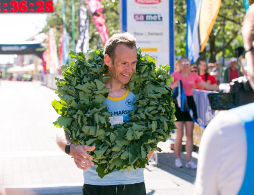 Jonathan Rosenbrier broke the track record of Pärnu County Victory Day Marathon