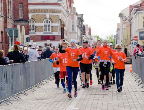 Võidupüha maratoni tuli jõuab Pärnusse teatejooksjate abiga