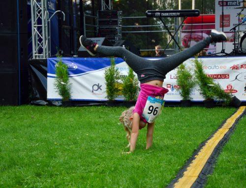 Kahe Silla jooksu eelpäev paneb Pärnu Vaasa pargis elu kihama