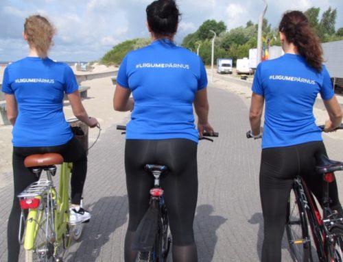 """""""Liigume Pärnus"""" ootab rajale spordikaugeid ning pakub võimaluse regulaarsetelegi harrastajatele"""