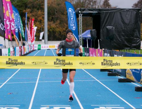 Tormise Pärnu Rannajooksu võitsid Karl Mäe ja Maria Veskla