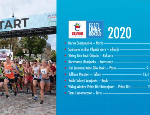 Eesti Linnajooksud sarja kevadised sündmused lükatakse edasi