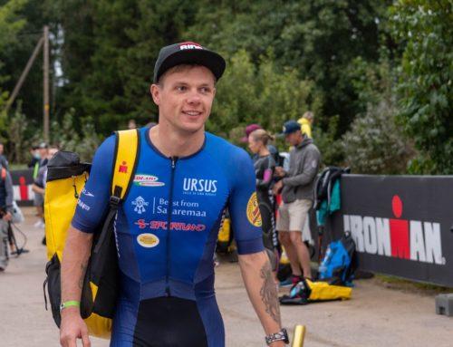 Rannajooksul osalejad aitavad Timmo Jeretil Hawaii Ironmanile jõuda