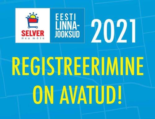 Registreerimine Selver Eesti Linnajooksud sarjale on avatud!