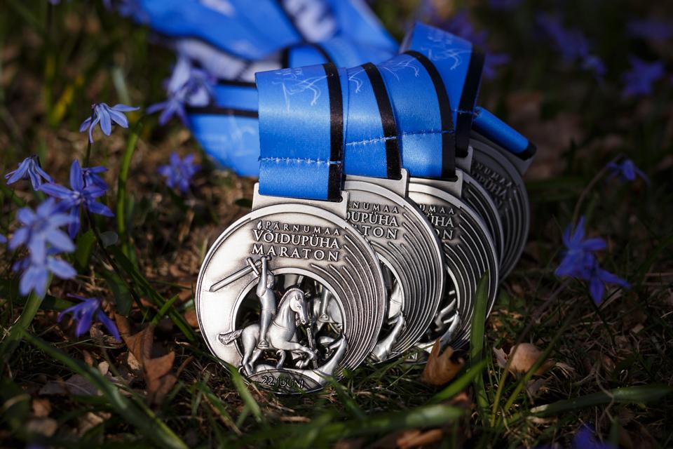 Võidupüha maraton_medal