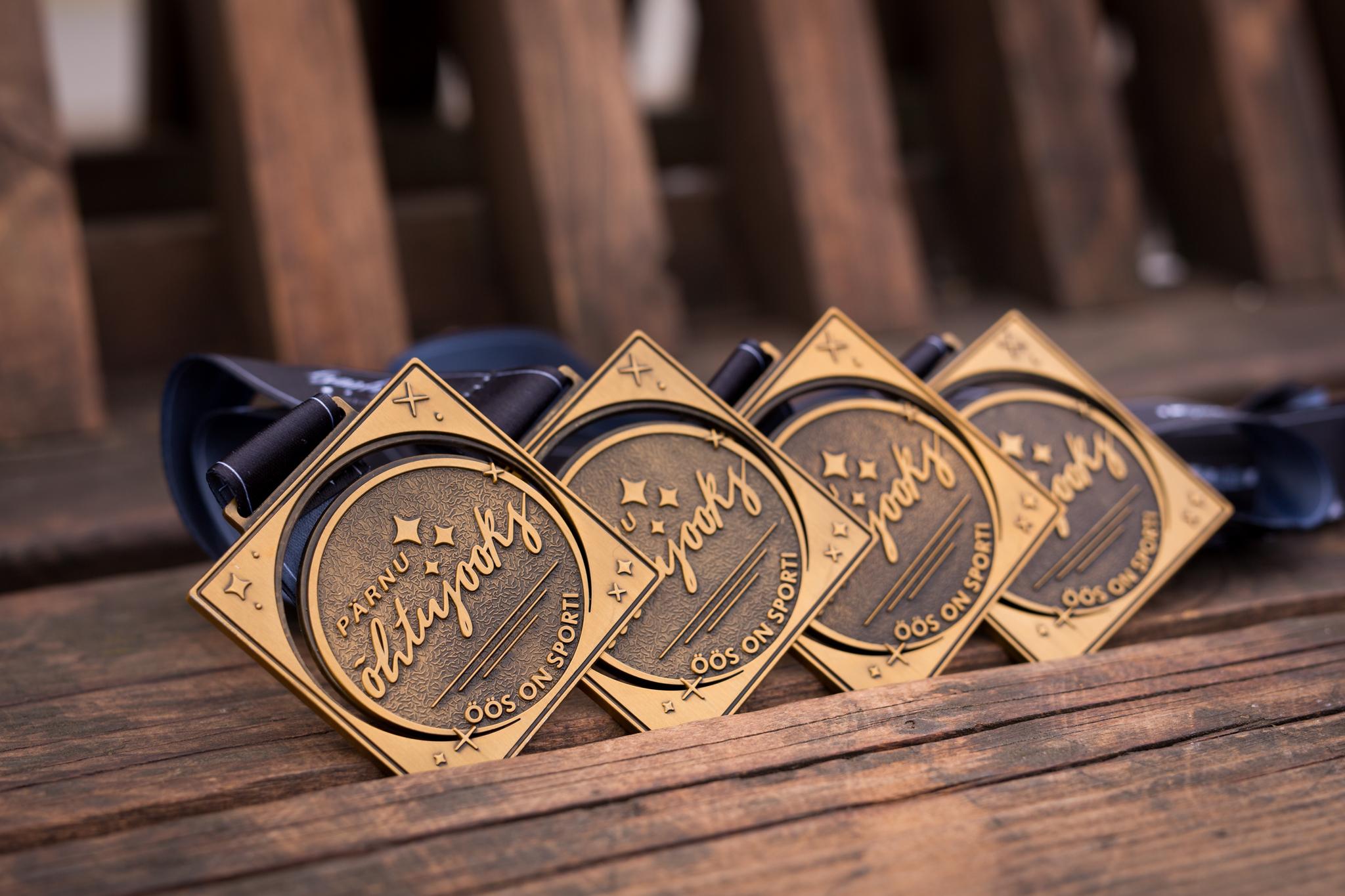 Pärnu Õhtujooks_medal
