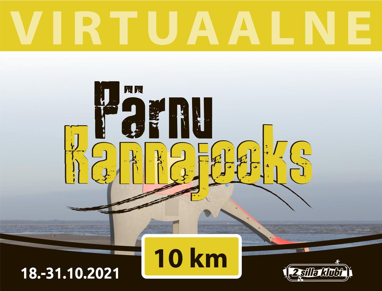Virtuaaljooks Pärnu rannajooks
